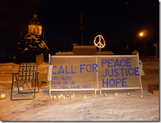 call for peace justice hope