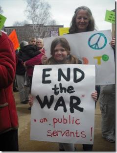 end the war on public servants