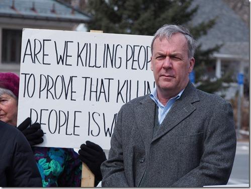 renny hampton vigil 2014