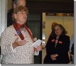 Rev. Gail Kinney at 2011 Legislative Advocacy Day